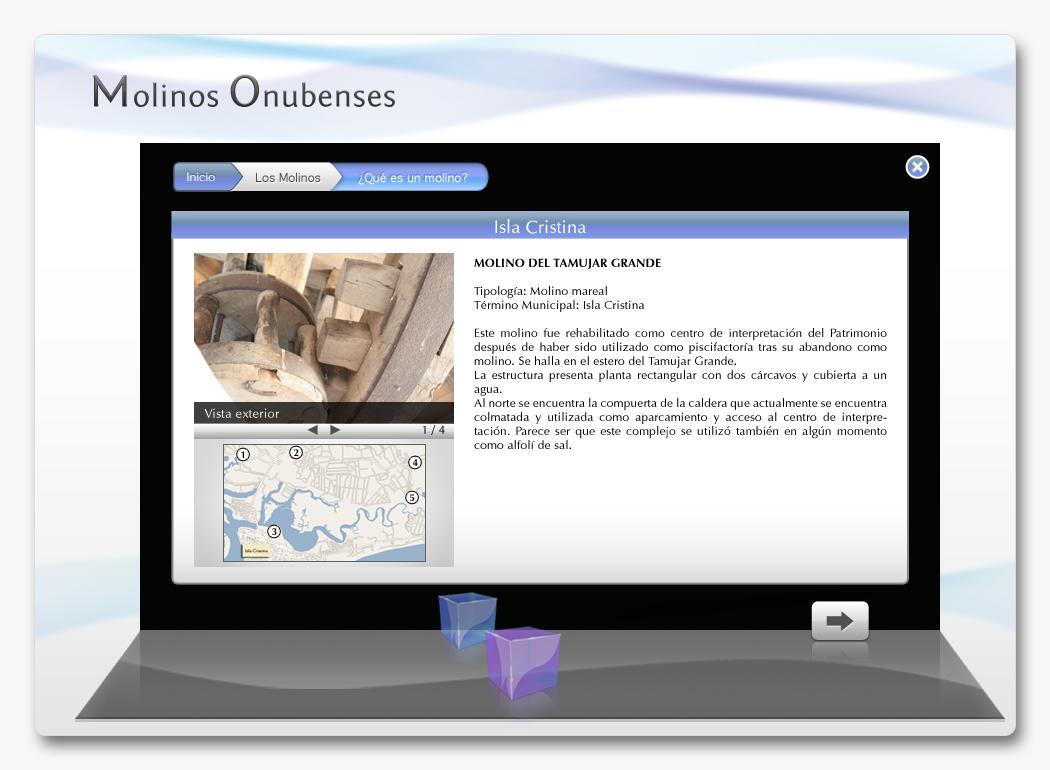 DVD Multimedia Molinos Históricos Onubenses