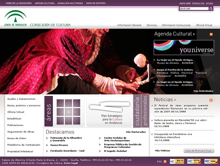 Consejería de Cultura. Junta de Andalucía