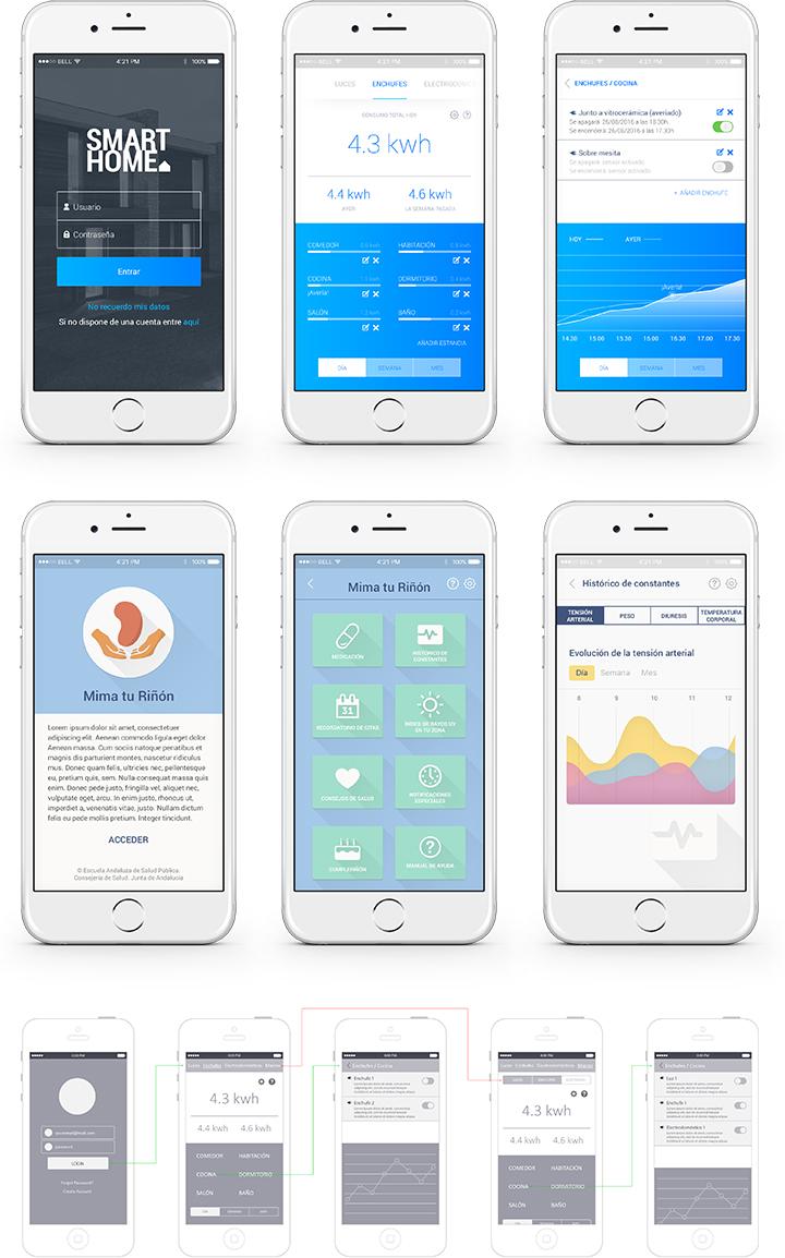 Diseño UX/UI para apps